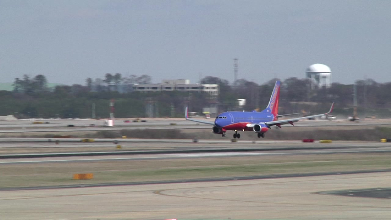 Southwest Airlines LUV Jets Arrive in Georgia