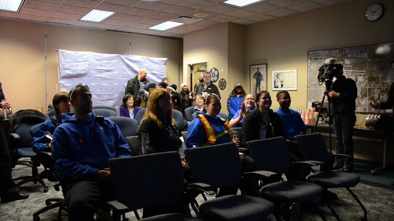 Southwest Airlines Milwaukee Employees Celebrate Premiere of New Ad Campaign