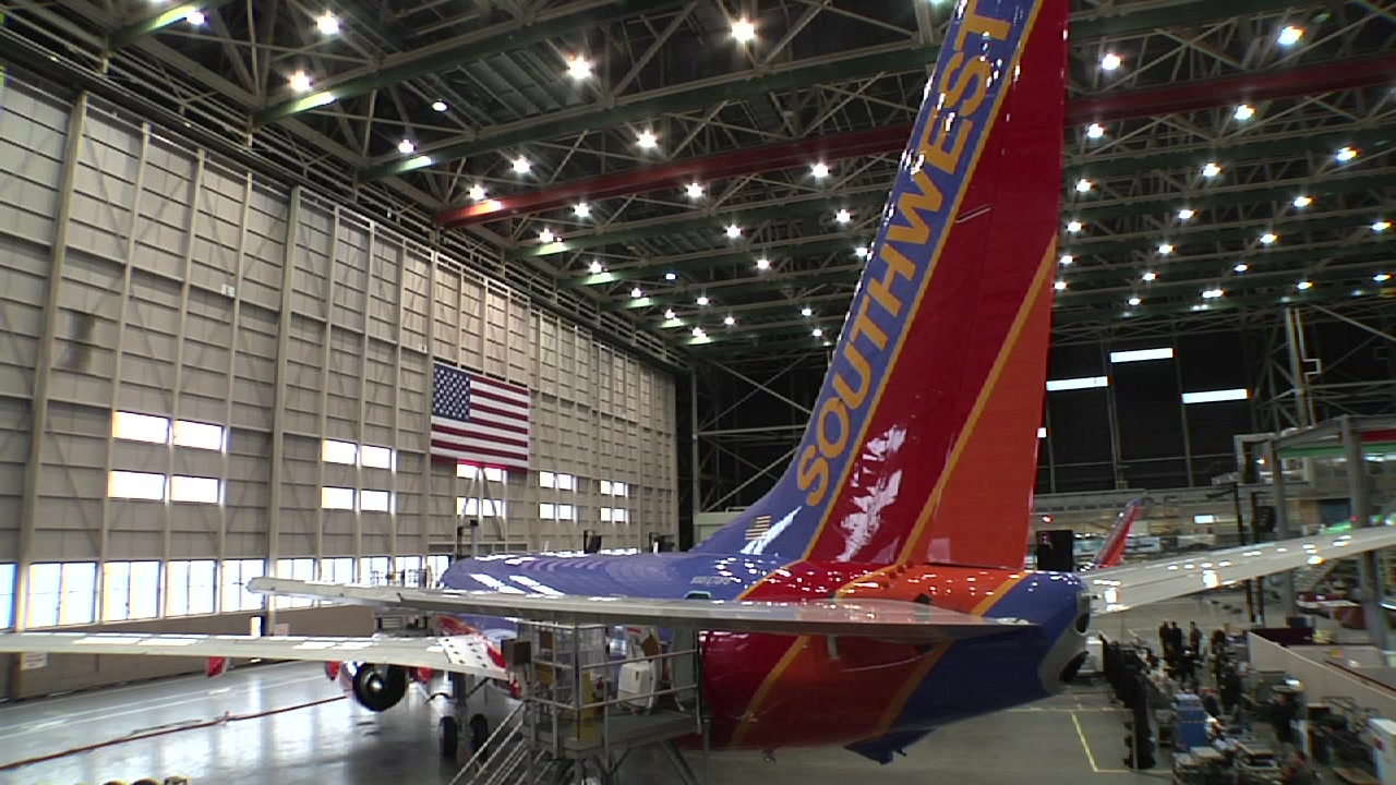 Southwest Airlines first 737-800, Warrior One